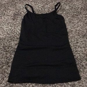 Tops - Black tight fitted tank top